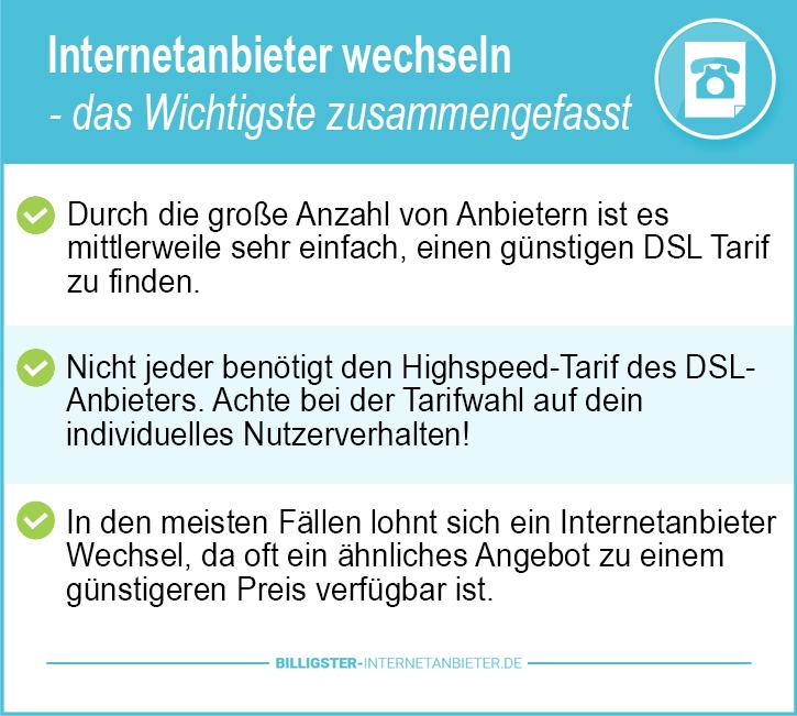 Internetanbieter Deutschland ohne Bindung