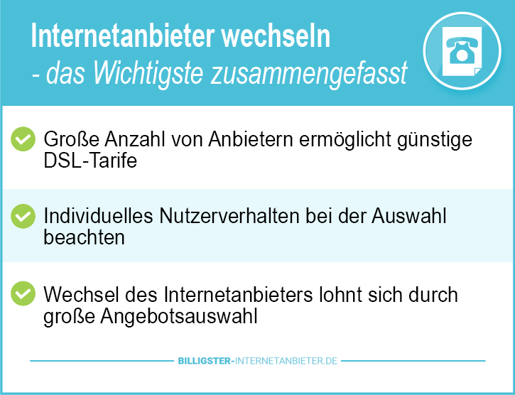 Telefon und Internetanbieter Deutschland