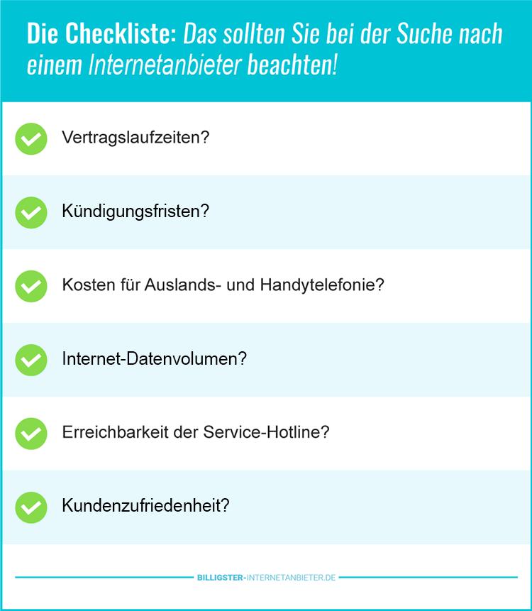 Internetanbieter günstig