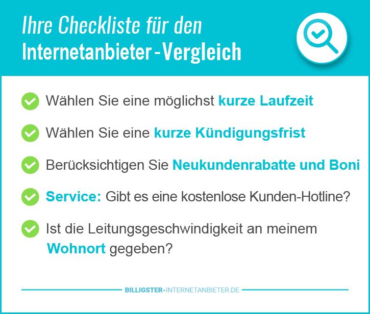 Schnellster Internetanbieter Berlin