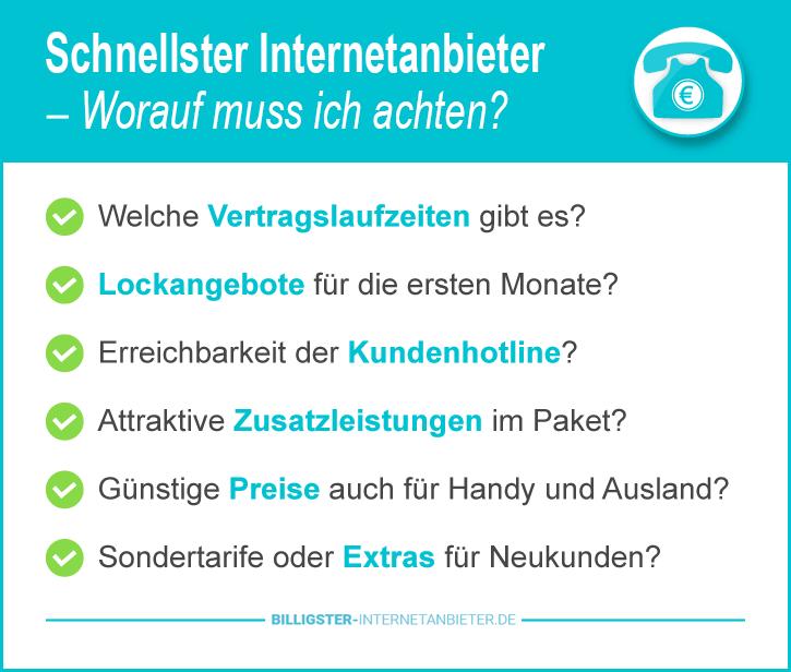 Schnellster Internetanbieter Stuttgart