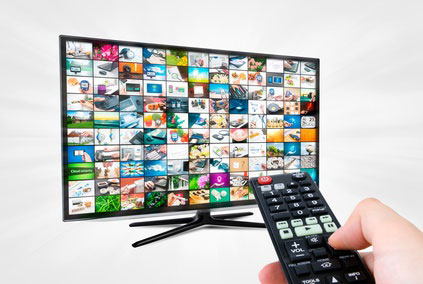 Fernseh und Internetanbieter Paket