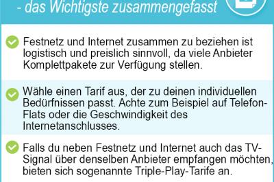 Festnetz und Internetanbieter 2020 – günstige Tarife finden
