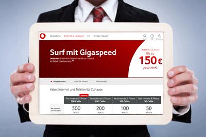 Internetanbieter ohne Telefon Vodafone