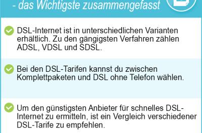 Internetanbieter DSL 2020 – der große DSL Vergleich