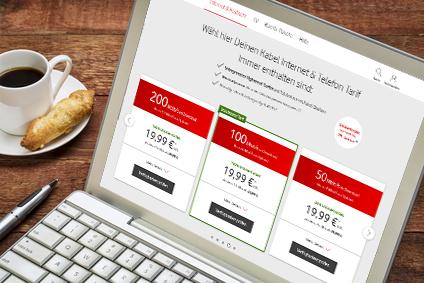 Festnetz und Internet Vodafone