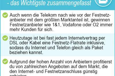 Günstige Telefontarife fürs Festnetz 2020