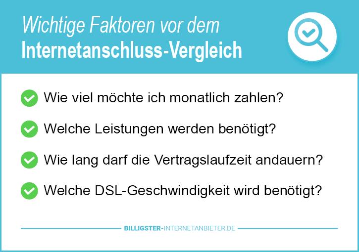Internetanschluss Anbieter Hannover
