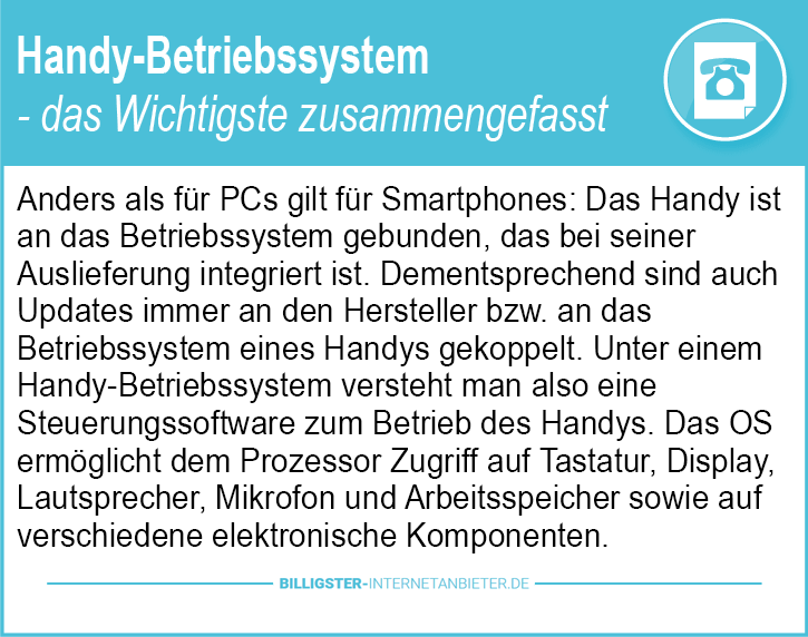 Bestes Handy-Betriebssystem