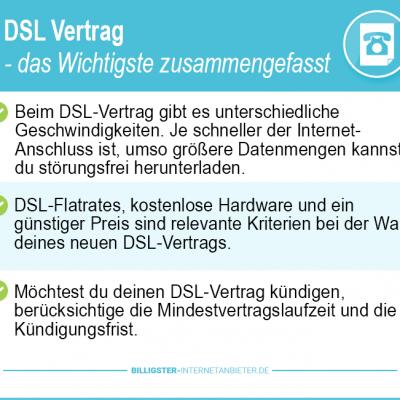 DSL Vertrag Vergleich 2019 –  die günstigsten Tarife im Preisvergleich