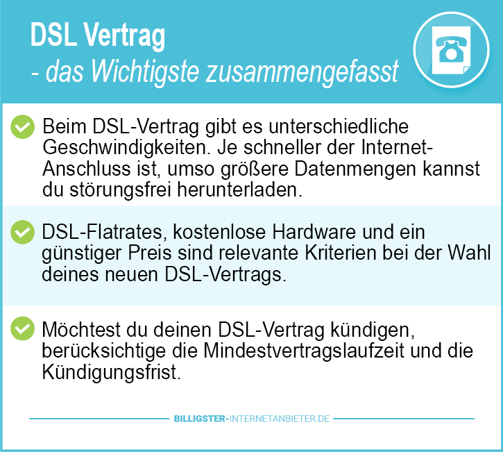 DSL Vertrag