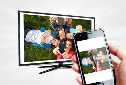 Fotos vom Smartphone auf dem TV anschauen