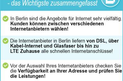 Internetanbieter Berlin 2020 – günstige DSL, Kabel & LTE Tarife im Vergleich