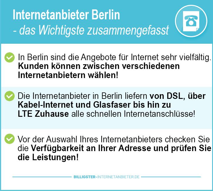 Internetanbieter Berlin