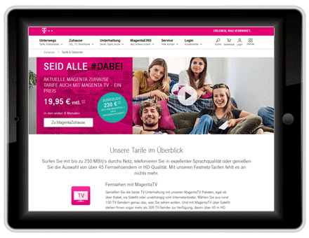 Internetzugang Telekom