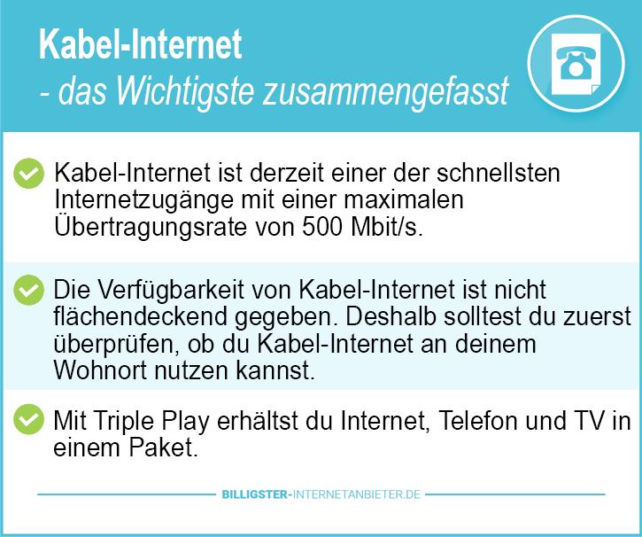 Kabel Internet Berlin