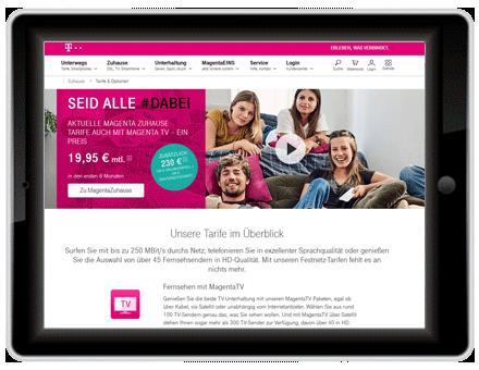 Kabelfernsehen Telekom
