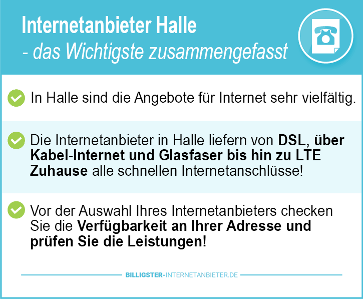 Internetanbieter Halle