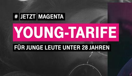 Telekom DSL Junge Leute