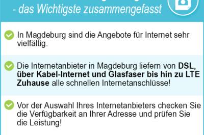 Internetanbieter Magdeburg – Test 2020 als Basis Ihrer Tarifsuche