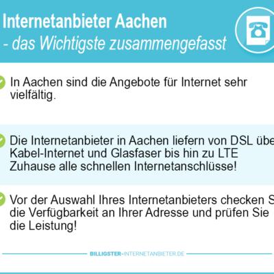 Internetanbieter Aachen 2021: Die Übersicht im Tarifdschungel behalten
