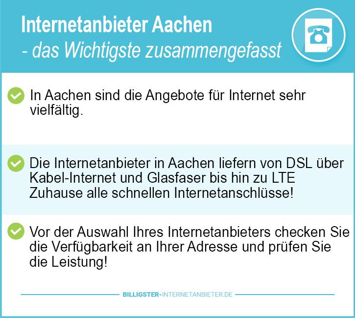Internetanbieter Aachen