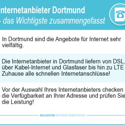 Internetanbieter Dortmund 2021 – minutenschnell zum Neuanschluss & Wechsel
