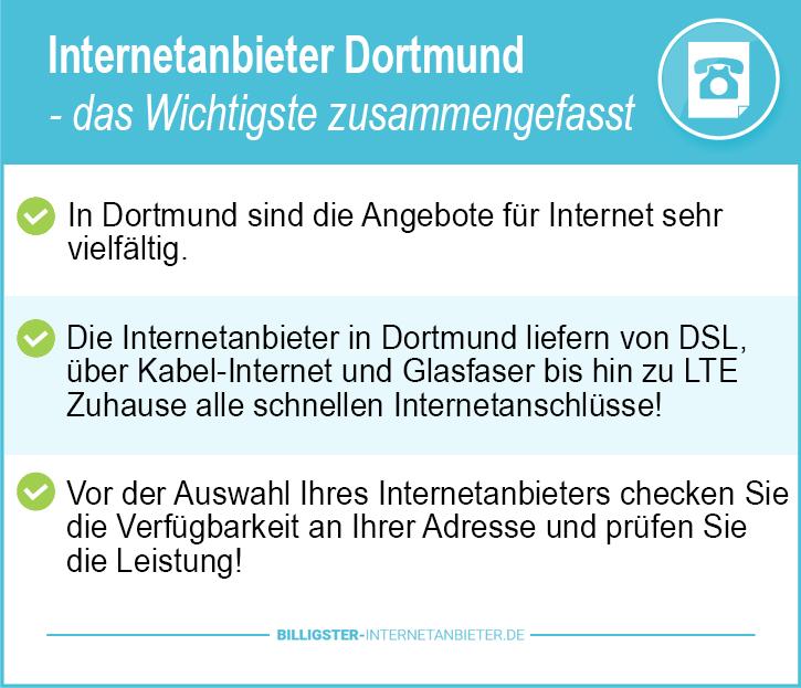 Internetanbieter Dortmund