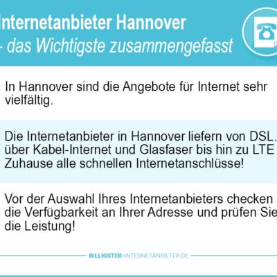 Internetanbieter Hannover 2020: Einfach & schnell zum besten Internetanschluss