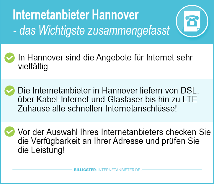Internetanbieter Hannover