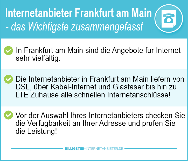 Internetanbieter Frankfurt am Main