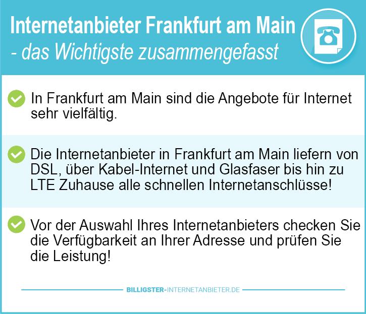Internetanbieter Frankfurt am Main