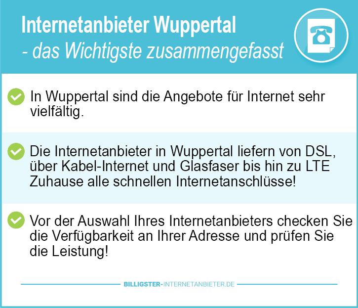 Internetanbieter Wuppertal