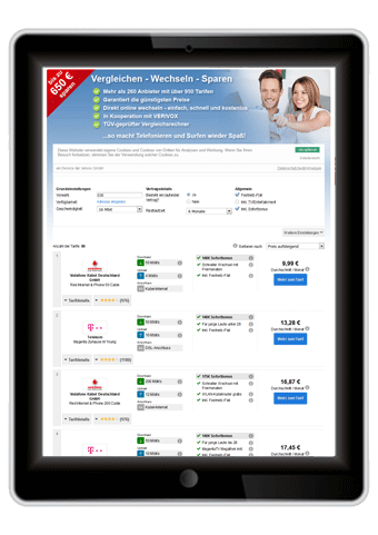 Internetanbieter Bochum Test