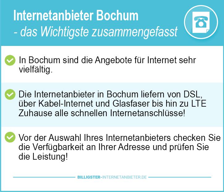 Internetanbieter Bochum